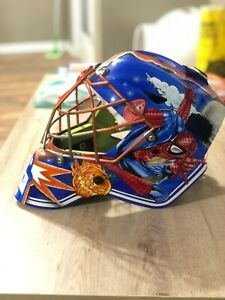 Custom Airbrushed Otny XM Pro Goalie Mask