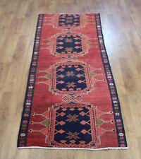 Traditional Handma Classic Oriental Vintage Wool Area Rug Carpet 213X72 cm