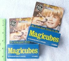 GE General Electric Magicubes flash cubes for X-Type cameras set of 5