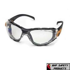 ELVEX GO-SPECS SAFETY GLASSES CLEAR ANTI-FOG GG-40C-AF WORK SPORT EYEWEAR Z87+