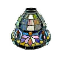 Quoizel Collectibles Tiffany Style Stained Glass Lamp Shade Ceiling Light