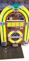 JUKEBOX RADIO Novelty Thomas radio & cassette Player plug in Vintage Lights UP