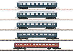 Märklin Z 87357 Schnellzug-Schürzenwagen-Set der DB - NEU + OVP