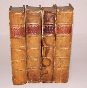 Antique RARE 4 Vol. Set SYSTEM OF SURGERY BENJAMIN BELL 1787 & 83 Copper Plates