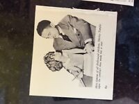 B1o  ephemera 1950s picture film star shirley temple signs