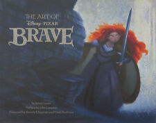 The Art Of Disney Pixar Brave Book Autographed  Kelly Macdonald Voice of  Merida