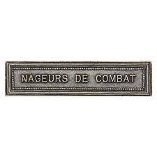 Agrafe pour médaille Ordonnance NAGEURS DE COMBAT plongeur de combat COMMANDO