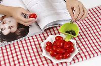 Kitchen Tableware Salad Sauce Ketchup Jam Dip Clip Cup Bowl Saucer GI8Z