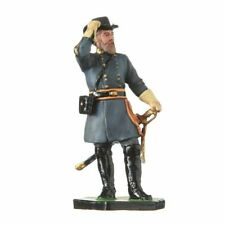Tin Toy Soldier Civil War Confederate General Longstreet 54mm Hand Painted #cw15