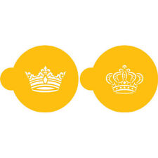 Designer Stencils Royal Crowns Cookie Set
