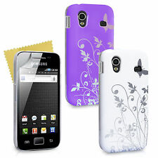 Samsung Galaxy Ace Designer Phone Case Plastic IMD With Protective Cover Skin UK