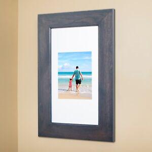 Recessed 14x24 Medicine Cabinet w/ PICTURE FRAME DOOR, no mirror, white interior