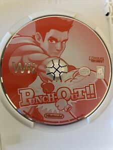 Punch-Out!! (Wii, 2009) Disc Only