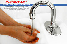Instant-Off Hand Wash Faucet 100 Stops Water Waste Reduces Cross-Contamination