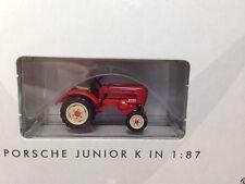 Ho 1/87 Busch # 50000 Porsche Junior K Tractor - Red