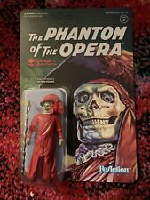 SUPER 7 REACTION MONSTERS PHANTOM OF THE OPERA MASQUE OF THE RED DEATH IN HAND!