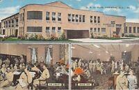 Anniston, ALABAMA - USO Club - MULTIVIEW - library, snack bar