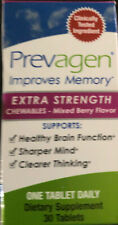 Prevagen  Extra Strength Chewables 30 Tablets- Mixed Berry Flavor ~BNIB