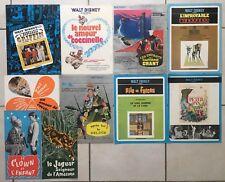 Lot de 10 Synopsis WALT DISNEY - Press-Book Cinéma 70-80's - Coccinelle ...