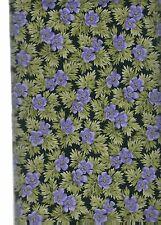 America's Garden Amer-03 PURPLE  Kona Bay  100% Cotton Fabric  priced by 1/2 yd