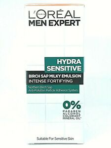 Men Expert Hydra Sensitive Birch Sap Milky Emulsion Intense Fortifying - 50ml