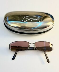 Ray Ban RB6082 Brown Rectangle Fashion Sunglasses W New Purple Pink Lenses