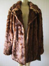 $320 PAMELA MCCOY COLLECTION BROWN MIX FAUX COAT SIZE XL - NWT