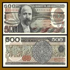 Mexico 500 Pesos, 1983-1984 P-79 Unc