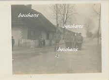 Polen Koniecpol-Schlesien-Standquartier der A.A.Woyrsch 1915 (c392)