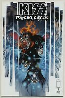 Kiss: Psycho Circus #7 (Mar 1998, Image) Brian Holguin Angel Medina D-