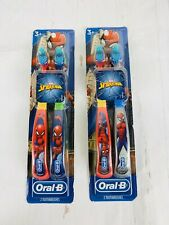 Oral-B Children Manual Toothbrush Marvel's Spider-Man 2 Count (Pack Of 2)