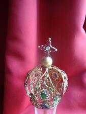 Couronne ancienne de Jésus laiton doré et strass old church crown