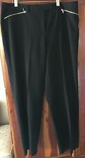 CALVIN KLEIN WOMEN'S DRESS SLACKS BLACK  PLUS SIZE 16W  NWOT