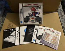 MARIO KART DS PAL UKV CASE & ALL PAPERWORK ONLY (NO GAME CART)