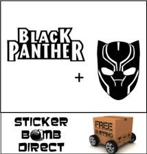 Black Panther Decal Set Sticker Marvel Comics DC JDM Movie Wakanda Forever