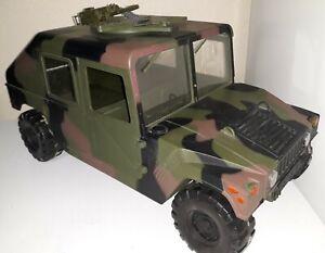 G I  Joe Humvee 1/6 Scale 1997 21 First Century Military With Gun