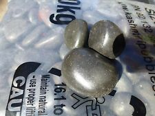 Pebbles Imported  Polished Black  20-30mm   sized    in   20kg bags      $20 ea