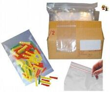 100 Sachets plastique transparent - ZIP - 60 x 80