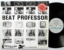 "BEAT PROFESSOR The Teacher Of The Beat 12"" Single ELECTRO Subway NEAR-MINT"
