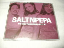 SALT 'N' PEPA - THE BRICK TRACK VS GITTY UP - UK CD SINGLE