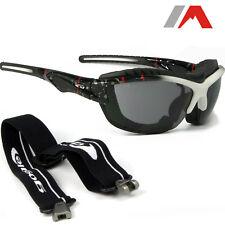 Sportbrille mit Band Bügel Windschutz Sonnenbrille Mulitsport Fliegerbrille