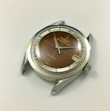 Vintage Universal Geneve Polerouter Gilt Brown Tropical cal.69 no chronograph