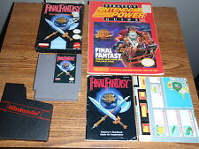 FINAL FANTASY NES NINTENDO GAME COMPLETE W/STRATEGY GUIDE