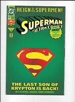 "Superman In Action Comics #687 | ""The Last Son of Krypton"" 
