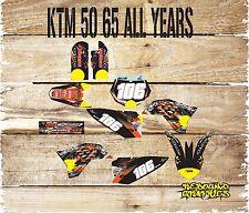 KTM SX 50 65 Kit De Gráficos Kit de Pegatinas Calcomanías Motocross MX