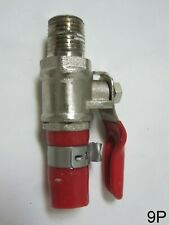 "Beer Tap Co2 Nitrogen Gas Shutoff Air Line Valve Kegerator 5/16"" Barb"