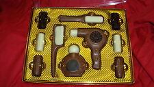 (100 g = 8,41 €) COIFFEUR BARBIER 10 Pièces Chocolat-Set sèche-cheveux identifie etc Cadeau