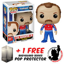 Funko Pop Talladega Nights Cal Naughton Jr Vinyl Figure + Free Pop Protector