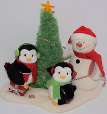 HALLMARK JINGLE PALS VERY MERRY TRIO PLUSH W/SOUND, LIGHTS & MOTION #4 2007 LN
