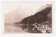 RPPC,Jenny Lake,WY.View of theTetons from Lake,Teton Co. Sanborn Photo,c.1940s